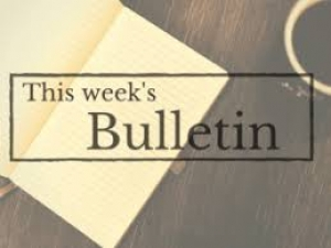 This Week's Bulletin 8.02.2020