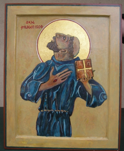 St. Francis of Assissi Meditation and Icon by Bill Robinson