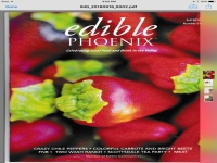 Chile Farm Featured in Edible Phoenix